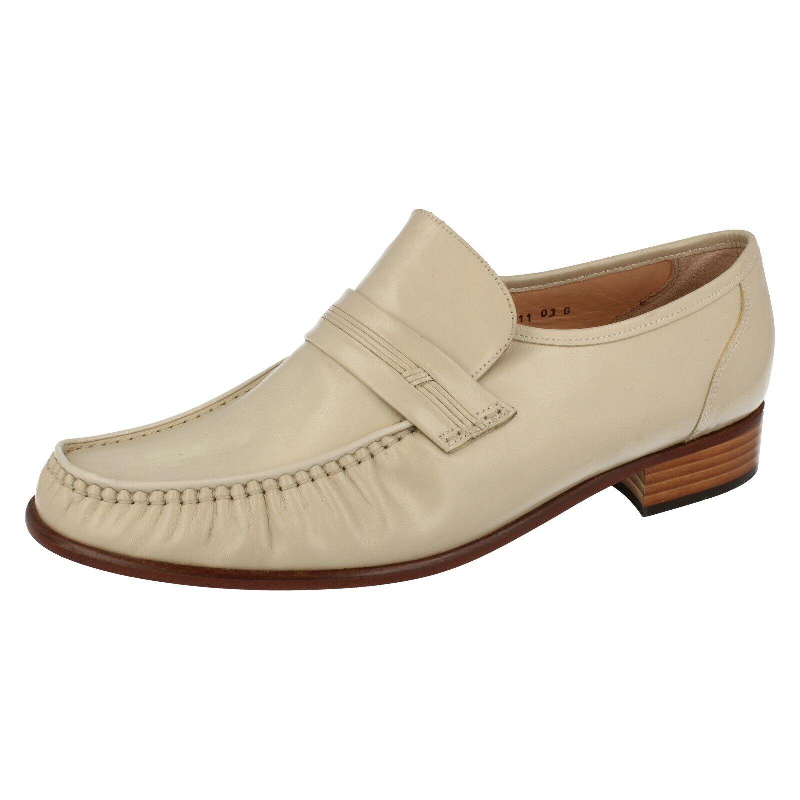 men Avorio in pelle da Infilare Grenson shoes Eleganti G Clapham (