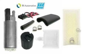 Walbro TIA GSS352G3 350LPH Fuel Pump Kit Fits Mitsubishi Lancer EVO 92-09