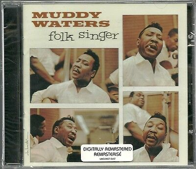 CD (NEU!) . MUDDY WATERS - Folk Singer (dig.rem.+5/ Buddy Guy Willie Dixon mkmbh