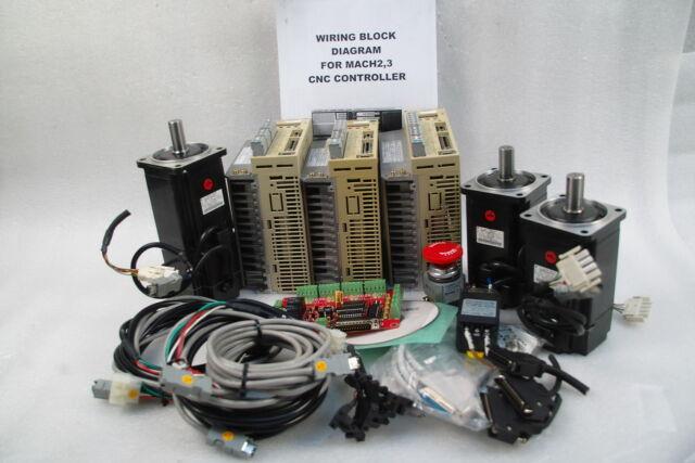YASKAWA 750W,DRIVER,MOTOR SGDM-08ADA,SGMAH-08AAA21,08AAA2C 3-AXIS CNC,ROUTER