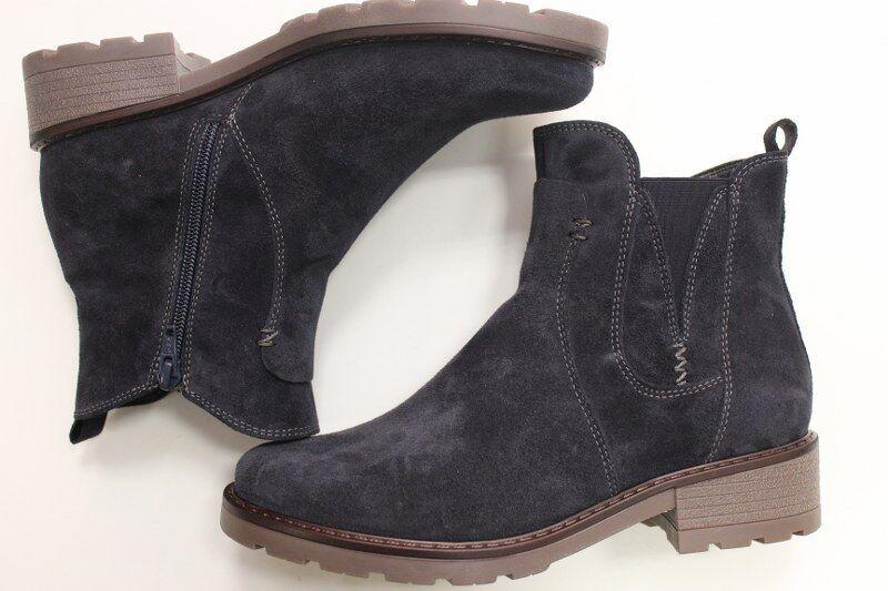 Schuhe Blau Blau Schuhe Gr 38 5 Stiefel JENNY by ara Weite G warm Stiefelette schwarz  Stiefel aeb115