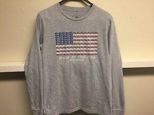 big sale 9278e e8cd1 Details about NEW BALANCE 990 MADE IN USA T SHIRT GREY Shirt sz M