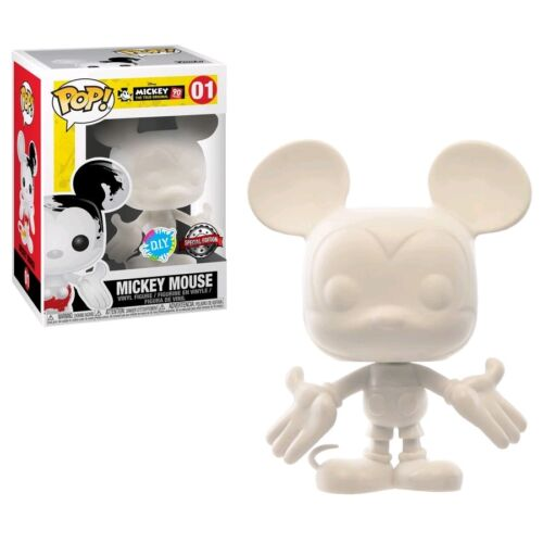 Mickey Mouse - 90th Mickey Mouse (DIY) US Exclusive Pop! Vinyl