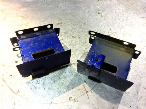 MG TF Mgf LE500-1.6 1.8 PARAURTI POST Crash lattine blu DQG100630 /& DQG100620
