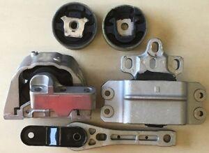 5pcSet-fits-2007-08-2009-2010-11-12-2013-Volkswagen-Eos-2-0L-Turbo-Motor-Mounts