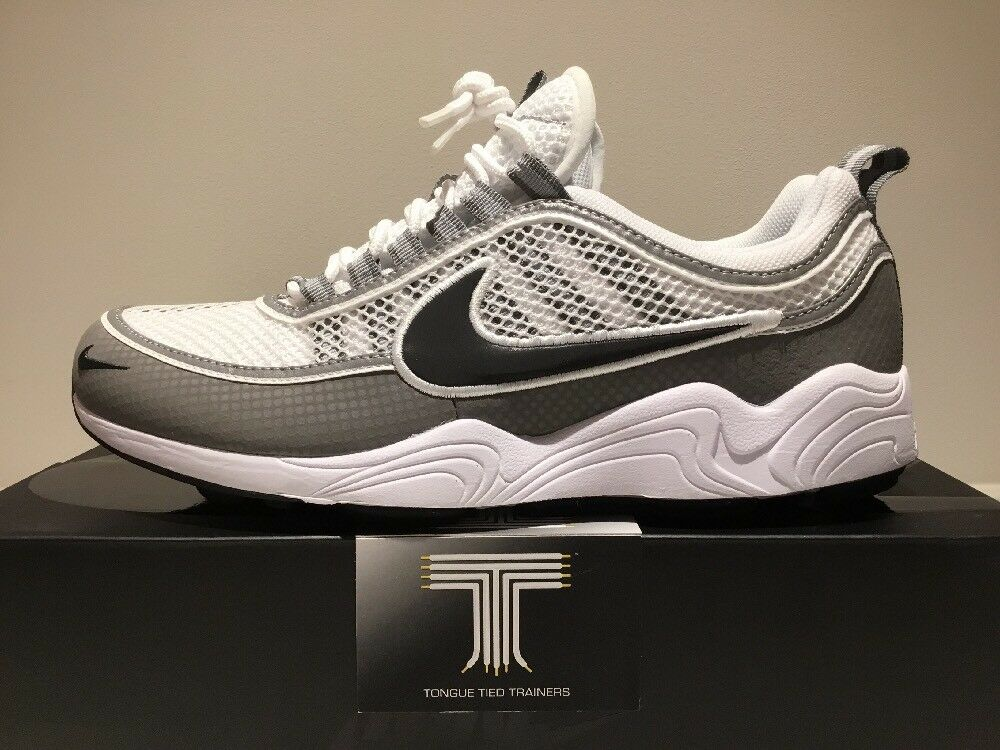 Nike Air Zoom Spiridon ~ 849776 101 ~ Royaume-Uni Taille 8- Chaussures de sport pour hommes et femmes