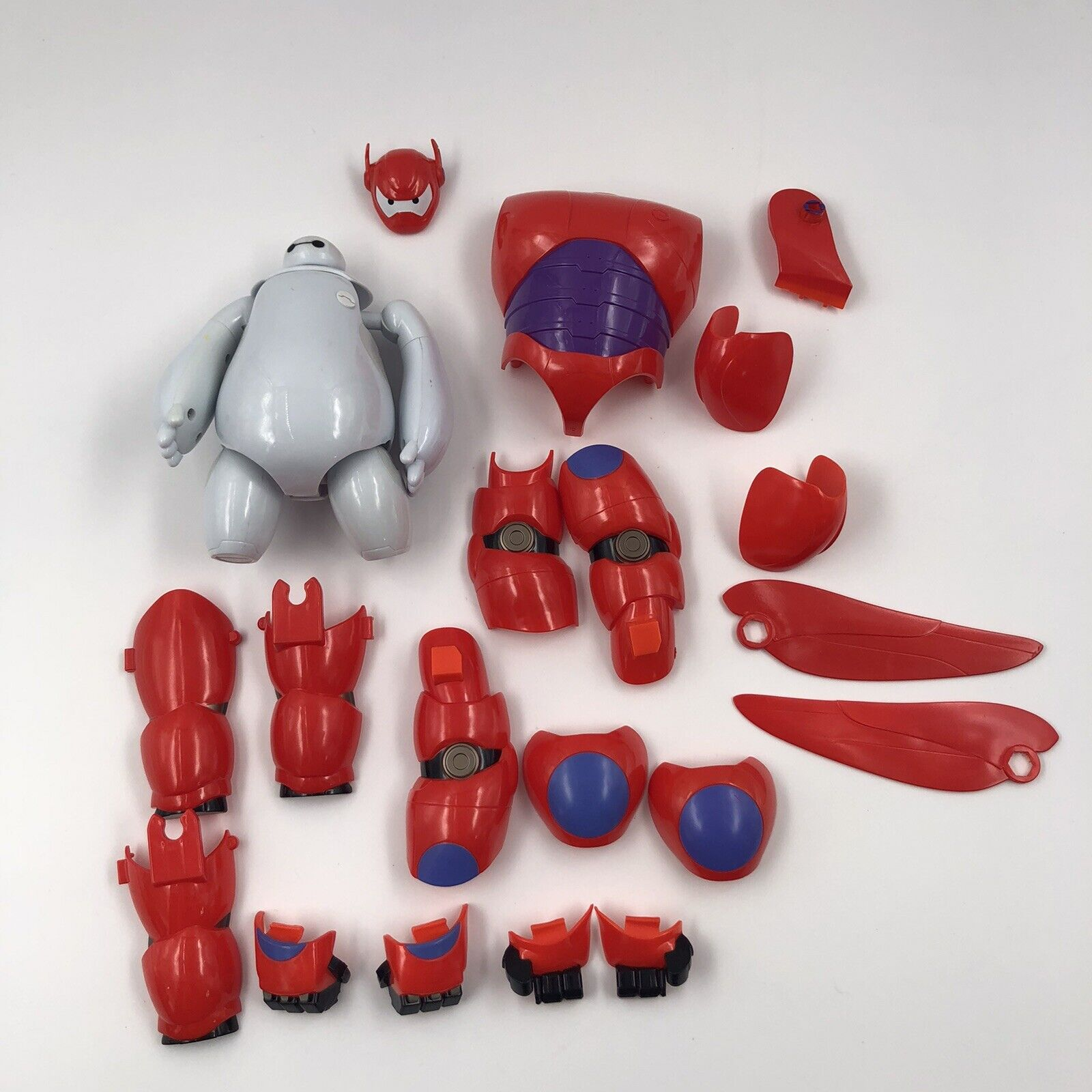 """New Other Ban Dai Disney Big Hero 6 The Series /""""Armor-Up Baymax 2.0/""""  Ages 4+"""