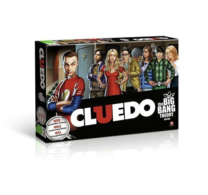 Cluedo - the Big Bang Theory - Board Game Party Game Game German