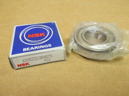 NIB NSK 6205ZZC3 BEARING METAL SEALED 6205 ZZ C3 6205ZZ C3 25x52x15 mm