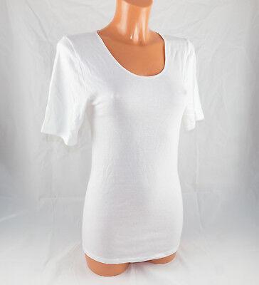 Triumph Donna Sotto Camicia In Cotone * Compliment 15 Shirt 03 * Bianco * Nuovo-mostra Il Titolo Originale