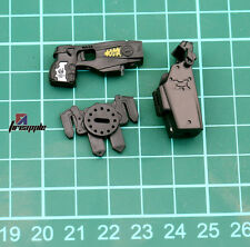"1/6 Scale SWAT Gun Pistol Weapon Holster Outfit Model for 12"" Action Figure"