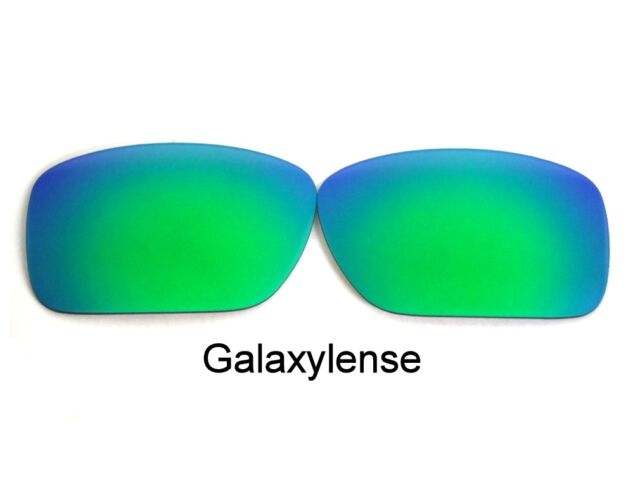 39cf7c710c Galaxy Replacement Lenses For Oakley Turbine Sunglasses Green Polarize 100 %UVAB