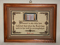 Blessed Is She Who Has Believed...bible,verses,scripture,plaques,christian,gifts