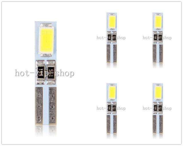 5X T5 58 70 74 2-5730 SMD Dashboard instrument led car light 12V  55-60LM white