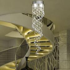 Crystal Chandelier Rain Drop Lighting Ceiling Light Pendant Lamp - Chandelier raindrop crystals