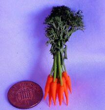 1:12 scala un mazzo di carota doll house miniature, giardino, cucina