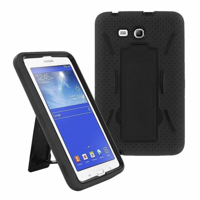 Samsung Galaxy Tab 3 7 Lite Sm T110 Drop Protection Hybrid Case Full Body Ebay