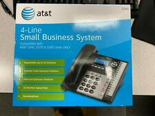 Atampt 4 Line Small Business System Phone 1040 1070 1080 Compatible Black With Box