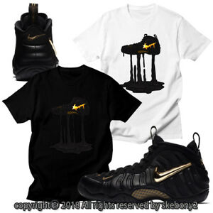 b96b4af245db5 CUSTOM T SHIRT MATCHING STYLE OF NIKE AIR FOAMPOSITE PRO GOLD FOAM 1 ...