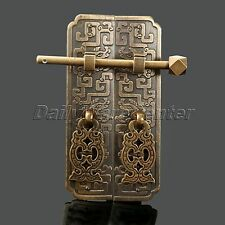 Antique Chinese Style Cabinet Lock Latch Door Furniture Hardware Pull Handle  Use