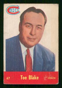 TOE-BLAKE-1955-56-PARKHURST-1955-56-NO-67-GOOD-43124