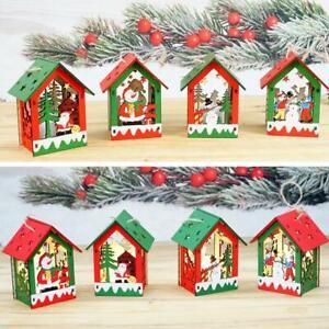 Cute-LED-Light-Wooden-Dolls-Christmas-Ornaments-Xmas-Tree-Home-Hanging-Decor
