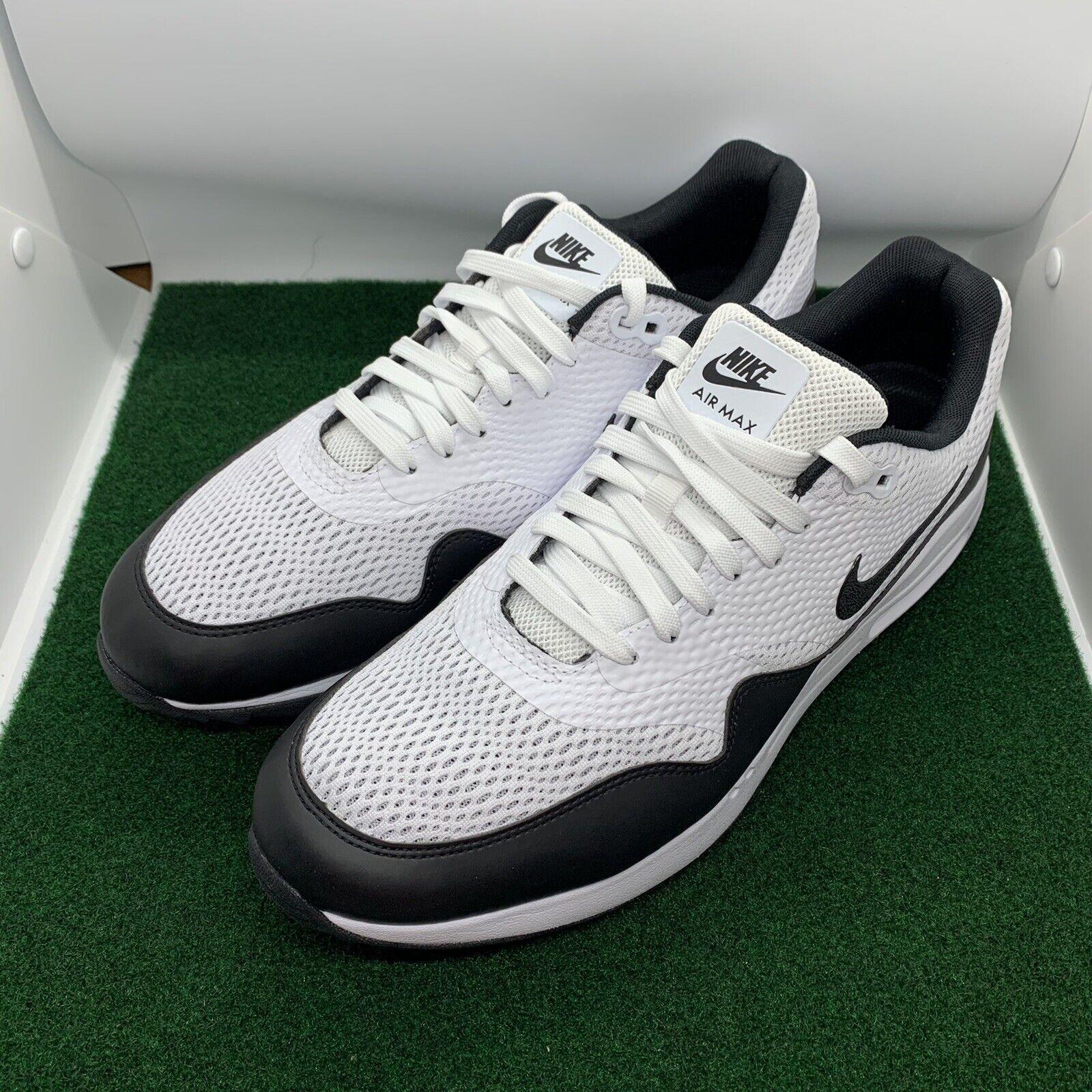 Size 14 - Nike Air Max 1 Golf White Black for sale online   eBay