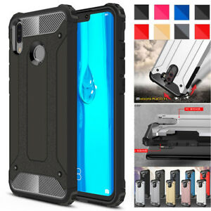 Shockproof-Armor-Hybrid-Rugged-Hard-Case-Cover-For-Huawei-Y7-Pro-Y9-P-Smart-2019