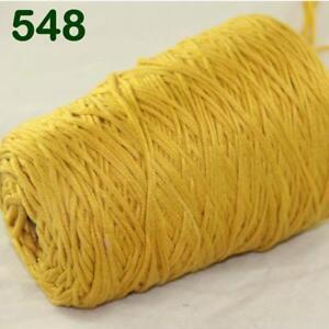 Sale New 400gr Cone Soft Cotton Chunky Bulky Wrap Shawl Hand Knitting Yarn 37