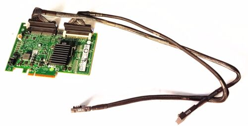 Perc 6//i raid card with SAS//SATA cables for dell R710 T954J 0G2H6 C31YC TK038