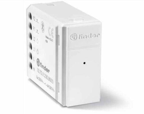 Relè Bluetooth Finder 13.72.8.230.B000 YESLY Relè 2 canali Bianco