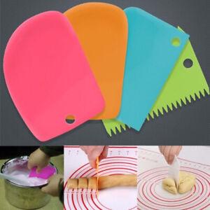 Silicone-Kitchen-Cake-Cream-Spatula-Mixing-Scraper-Brush-Butter-Baking-Home-Kit
