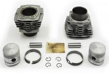 Zylinder mit Alurippen + Kolben+ Ringe URAL 650 Zylinder Alu Aluminium