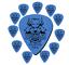 thumbnail 3 - Guitar Picks Clayton Duraplex Delrin Picks 12 Pack Choose Your Favorite Gauge
