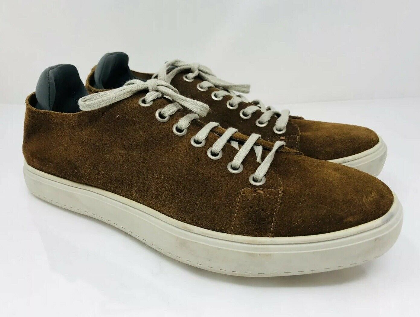 Donald J Pliner Men's Pierce Suede Sneaker Size 8.5M Brown, MSRP