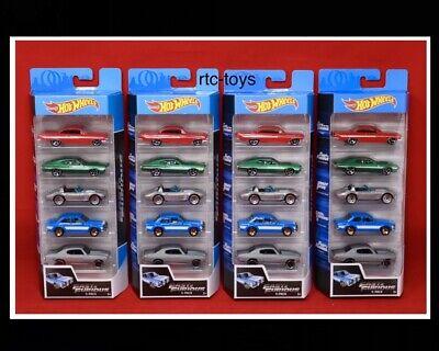Read Desc. Hot Wheels-FAST IMPORTS -Box SET OF 5 CARS SEALED//UNOPENED Case