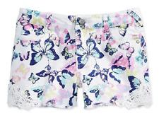 Epic Threads By Macy's Girls' Crochet Trim Shorts, Holiday Ivory, Size 12, $28
