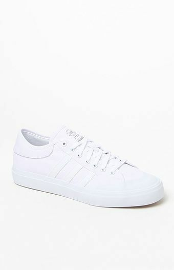 MENS GUYS ADIDAS MATCHCOURT WHITE  SHOES SB SNEAKERS NEW  80