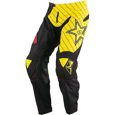 NEW ONE INDUSTRIES ATOM  ATV  MX BMX RACING PANTS  PANT Rockstar  size 38