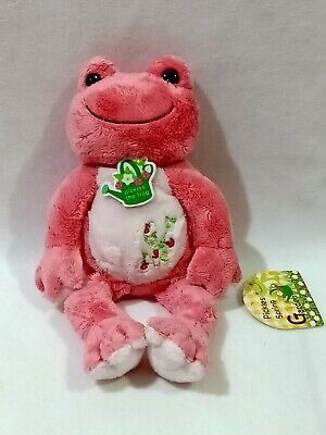 Pickles the Frog Spring Garden Plush Toy Carnation Pink ...