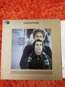 Simon and Garfunkel QUADRAPHONIC Bridge Over Troubled Water 1972 Pittman  vinyl