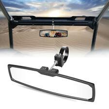 12rear View Center Race Mirror Alum 1752 Clamp For Utv Rzr Sxs Buggy Can Am Fits Honda