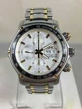 Men's Ebel 1911 Discovery Automatic Chronograph Stainless Steel & 18k Gold Watch