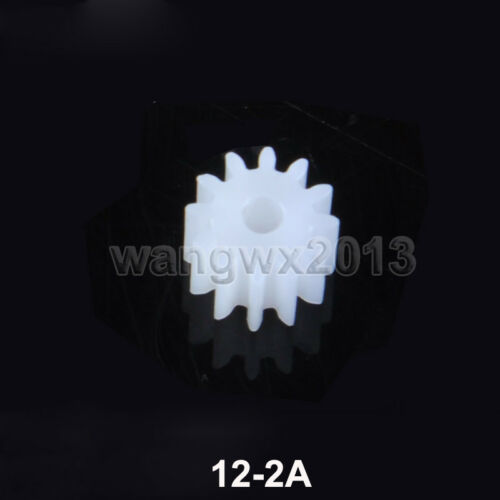 5pc 6//8//9//10//12//14//15//18T Teeth 0.4//0.5 Mold 1-3mm Bore Motor Plastic Gear Wheel