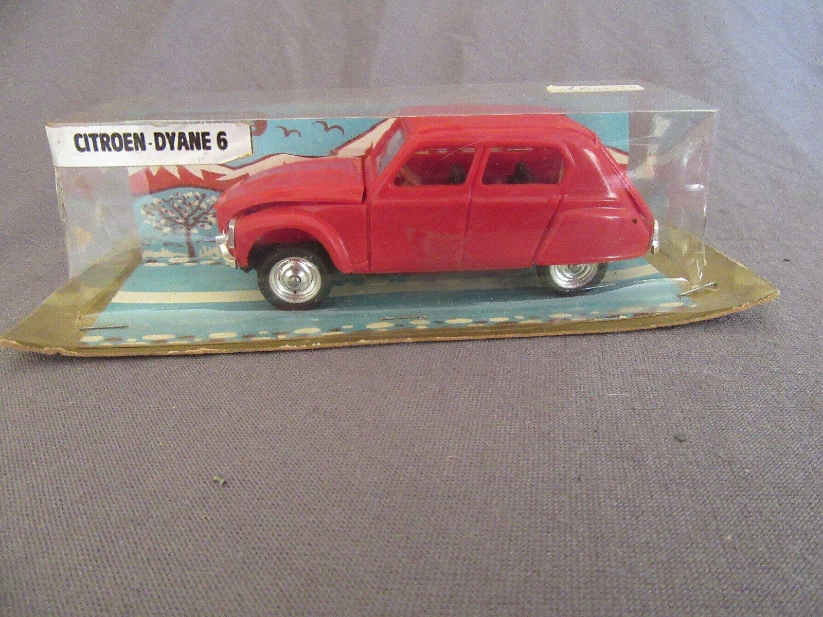 482F Vintage Minialuxe Citroën Dyane 6 rosso 1 43