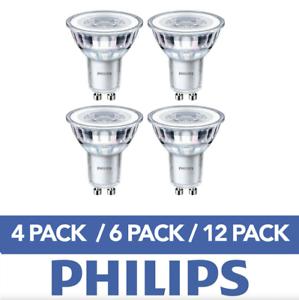 LED-gu10-Gluehbirnen-Energiespar-Kopfspiegel-Strahler-Lampe-A-Leuchtmittel-Philips