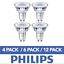 DEL-GU10-Ampoules-a-economie-d-039-energie-Ampoules-Spotlight-Lampe-Bon-etat-Ampoules-Philips miniature 1