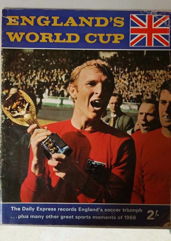 Copa Mundial de fútbol 1966 el Daily Express Records England's fútbol triunfo