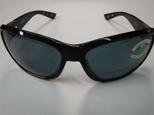 5ce329b777 Image is loading New-Costa-Inlet-READER-Sunglasses-580P-Gray-SHINY-