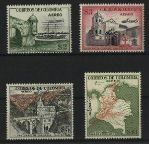 Colombie-PA-N-249-52-MNH-1954